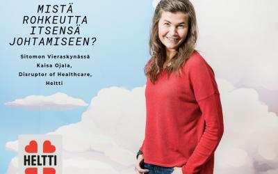 Kasvuyhtiö Heltin tarina – mistä rohkeutta itsensä johtamiseen?