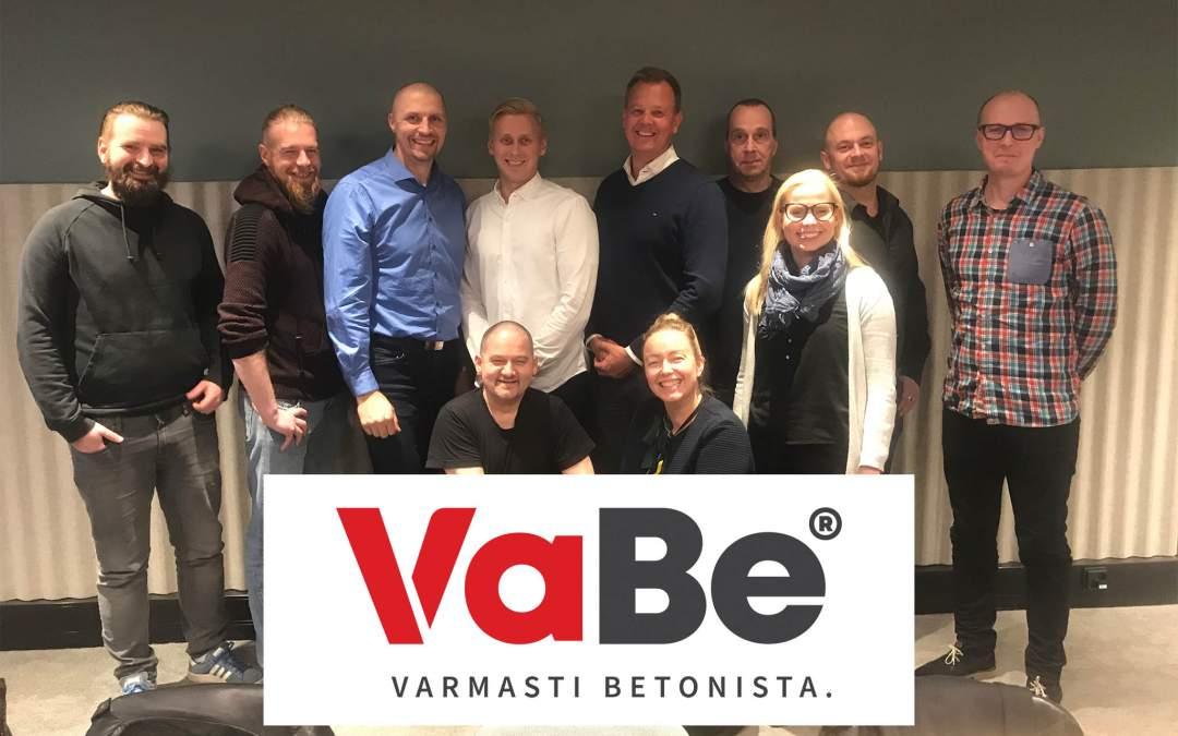 VABE Oy: betonialan paras työpaikka syntyy luottamusta, turvallisuutta ja laatua parantamalla