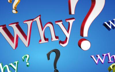 """Miten usein kysyt itseltäsi """"miksi""""?"""